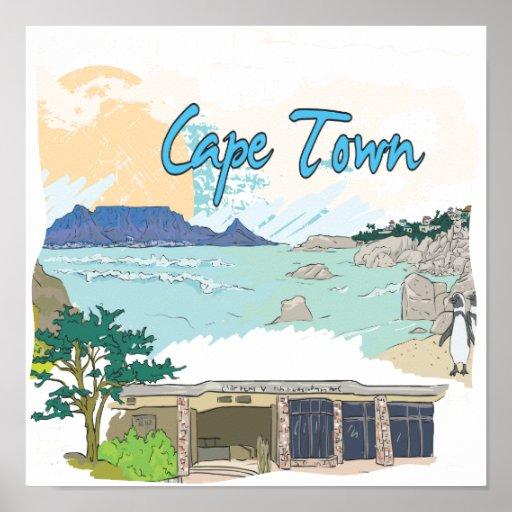 Cape Town Póster