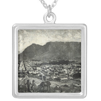 Cape Town Silver Plated Necklace