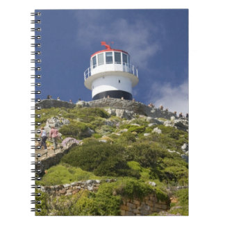 Cape Town, South Africa. A lighthouse on the Spiral Notebooks