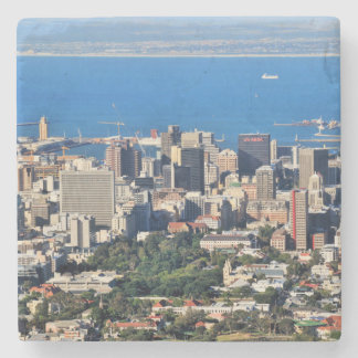 Cape Town, South Africa Stone Beverage Coaster