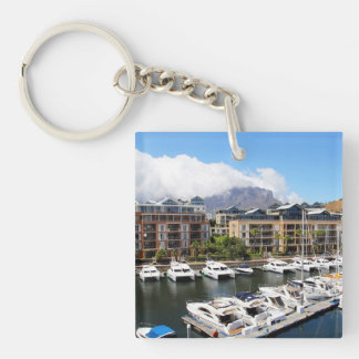 Cape Town, South Africa Harbour Keychain