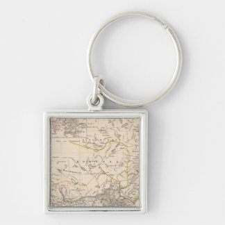 Cape Town, South Africa Keychain