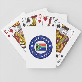 Cape Town South Africa Playing Cards