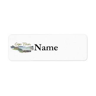 Cape Town - South Africa.png Custom Return Address Label