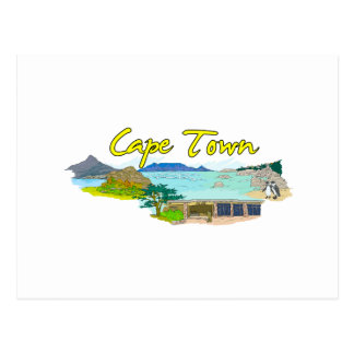 Cape Town - South Africa.png Postcard