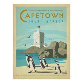 Cape Town, South Africa Postcard