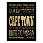 Cape Town, South Africa Poster