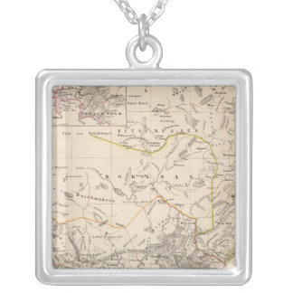 Cape Town, South Africa Silver Plated Necklace