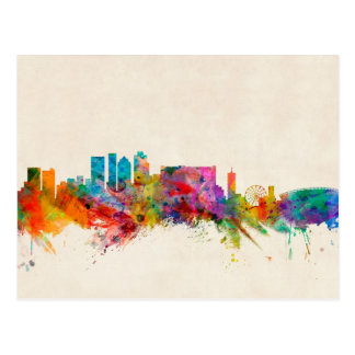 Cape Town South Africa Skyline Cityscape Postcards