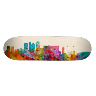 Cape Town South Africa Skyline Cityscape Skateboard Deck