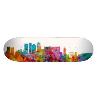 Cape Town South Africa Skyline Skate Decks