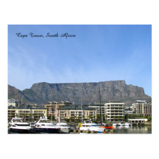 Cape Town, South Africa (Table Mountain) Postcard