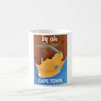 Cape town south Africa Travel poster Coffee Mug