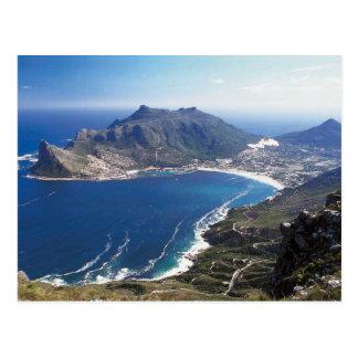 Cape Town Suráfrica Tarjeta Postal