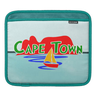 Cape Town Table Mountain Horizontal South Africa Sleeve For iPads