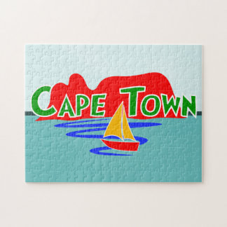 Cape Town Table Mountain Jigsaw Puzzle