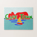 Cape Town Table Mountain Jigsaw Puzzle Puzzle