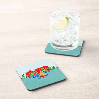 Cape Town Table Mountain Set of 6 Cork Coasters