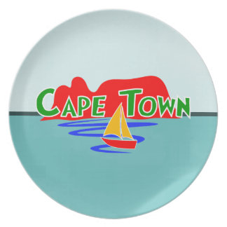 Cape Town Table Mountain South Africa Dinner Plate
