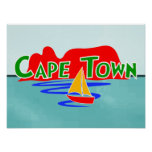 Cape Town Table Mountain South Africa Poster Print