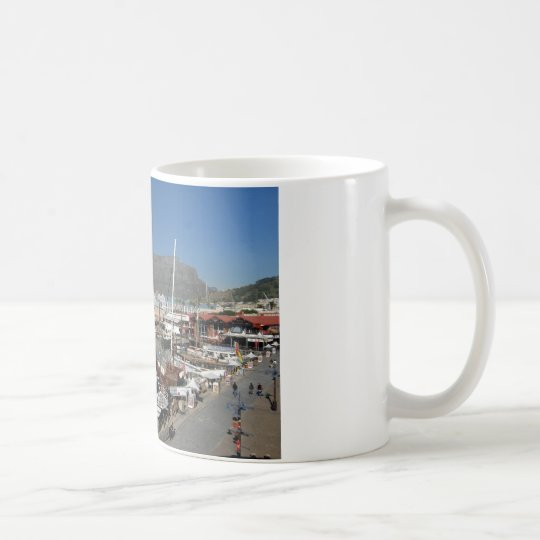 Cape Town water front Coffee Mug