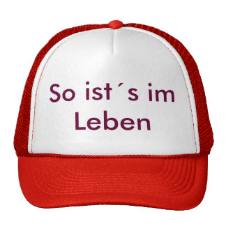 Cape Trucker Hat
