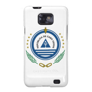 Cape Verde Coat of Arms Samsung Galaxy SII Case