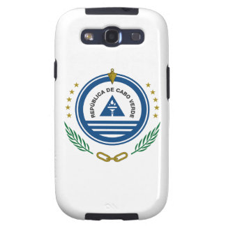 Cape Verde Coat of Arms Galaxy S3 Covers
