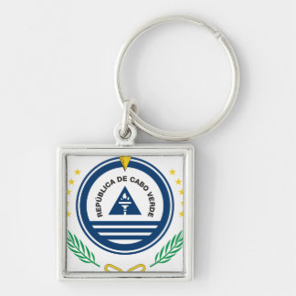 Cape Verde Coat of arms  CV Keychain