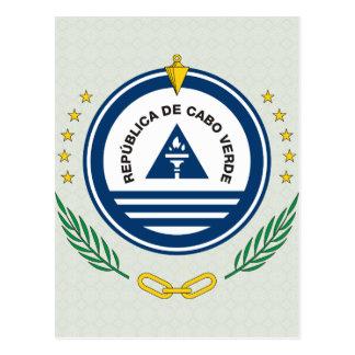 Cape Verde Coat of Arms detail Postcard