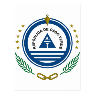 Cape Verde Coat of Arms Post Card