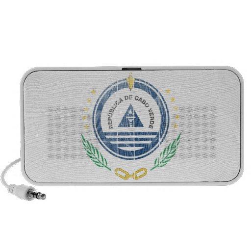 Cape Verde Coat Of Arms Laptop Speakers