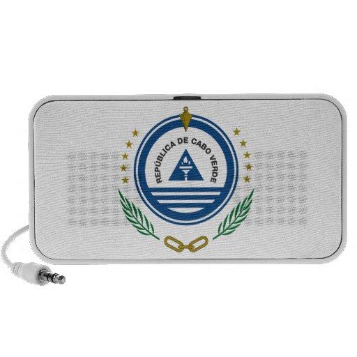 Cape Verde Coat of Arms Laptop Speaker