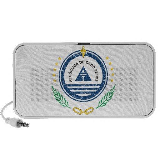 Cape Verde Coat Of Arms iPod Speakers
