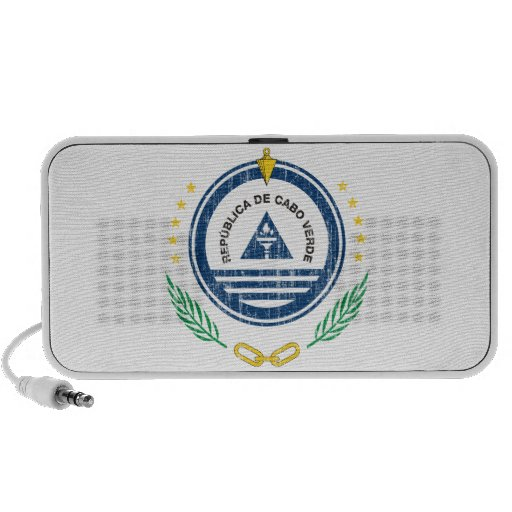 Cape Verde Coat Of Arms Notebook Speakers