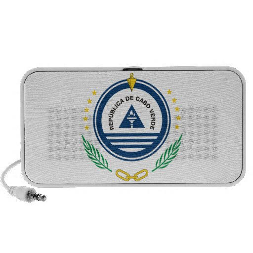 Cape Verde Coat Of Arms Portable Speakers