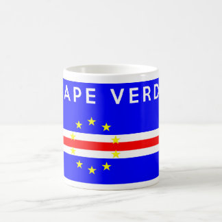 cape verde country flag symbol name text coffee mug
