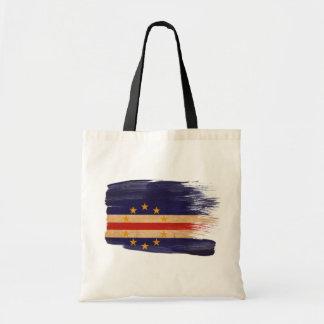 Cape Verde Flag Canvas Bags