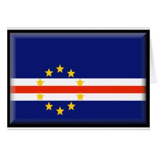 Cape Verde Flag Card