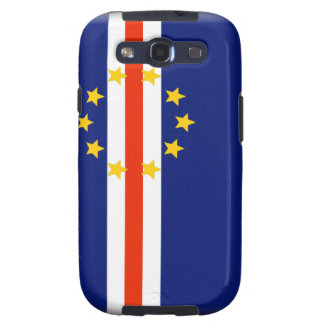 Cape Verde Flag Samsung Galaxy S3 Covers