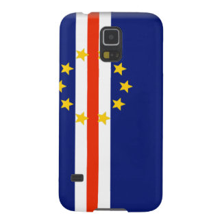 Cape Verde Flag Cases For Galaxy S5