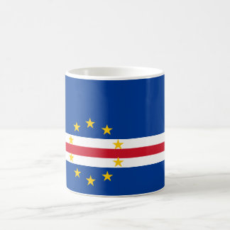 Cape Verde Flag CV Coffee Mug
