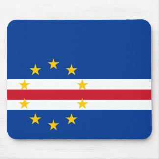 Cape Verde Flag CV Mouse Pad