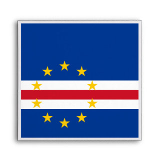 Cape Verde Flag Envelope