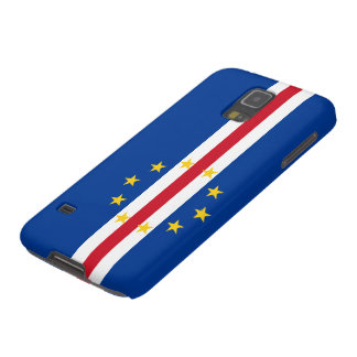Cape Verde Flag Galaxy S5 Cover