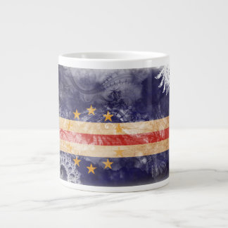 Cape Verde Flag Giant Coffee Mug