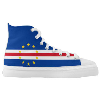 Cape Verde Flag High-Top Sneakers