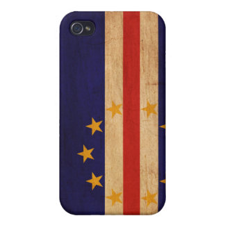 Cape Verde Flag iPhone 4 Cover