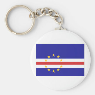 Cape Verde Flag Keychain