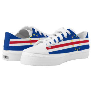 Cape Verde Flag Low-Top Sneakers